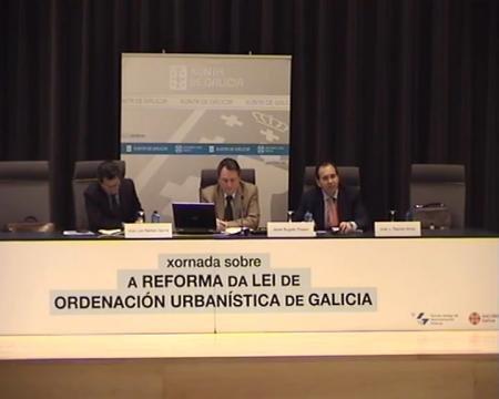 Edición de Pontevedra - Javier Bugallo Thielen, arquitecto Redactor de Planeamento - Novas Xornadas sobre A Reforma da Lei de Ordenación Urbanística de Galicia